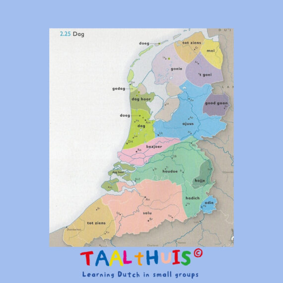 FROM BRABANTIAN TO FRIES: THE DIFFERENT LANGUAGES (!) DIALECTS AND ACCENTS OF THE NETHERLANDS